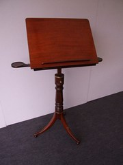 Regancy Mahogany Lectern