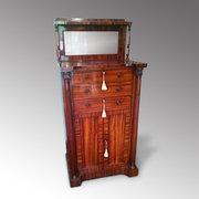 Regency Goncalo Alves Pier Cabinet