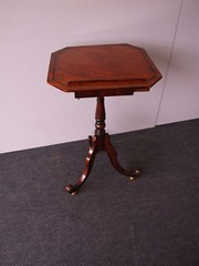 Regency Mahogany Occasional Table