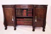 Regency Mahogany Open Bookcase