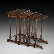 Regency Rosewood Quartetto of Tables