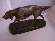Spelter Figure of a Pointer