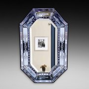 Venetian Cushion Framed Wall Mirror