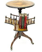 Victorian Book Table