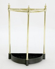 Victorian Brass Cane and Umbrella Stand