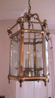 Victorian Brass Light