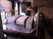 Victorian Brass and Cast Iron Bed
