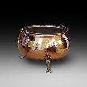 Victorian Copper Log Bucket