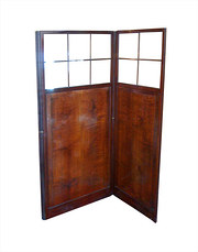 Victorian Mahogany Screen