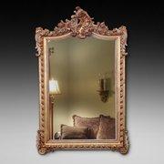Victorian Rococo Style Gilt Mirror
