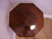 Victorian Rosewood Hexagonal Table