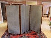 Victorian Rosewood Three Fold Screen