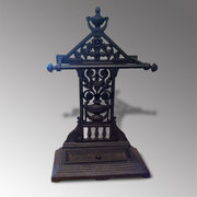 Victorian cast iron stick  umbrella stand