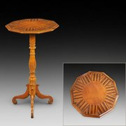 Victorian specimen wood occasional table
