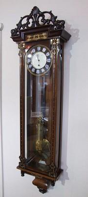 Vienna timepiece Rosewood case
