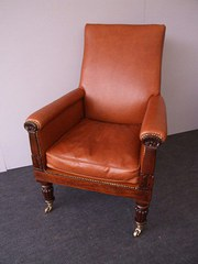 William IV Mahogany Arm Chair