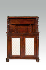 William IV Mahogany Chiffonier
