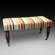 William IV Mahogany Foot Stool