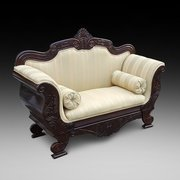 William IV Mahogany Two Seater Settee