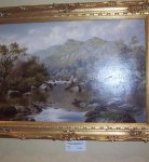 Oil Painting by W.H. Mander