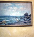 Russian Sea Scape by N.L.Kosokovski