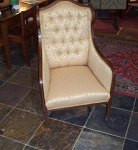 Inlaid Arm Chair