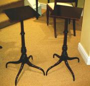 Pair of Mahogany Wine Tables c1900
