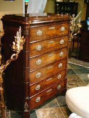 Mahogany Tall Chest of Drawers