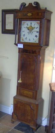 Late 18th C Cheshire Longcase Clock