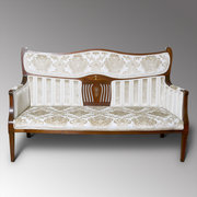 Edwardian Two Seater Settee