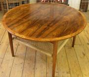 Mobelintarsia Rosewood Table