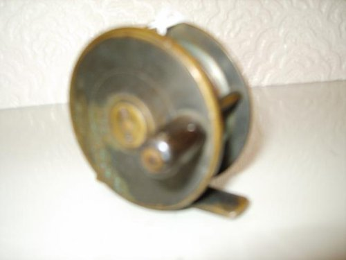 Victorian Brass Fishing Reel