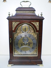 Charles Wrench Antique Bracket clock