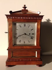Antique Bracket clock by Rowell from Oxford
