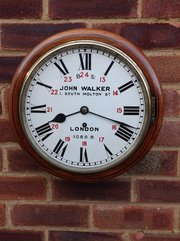 LBSCR fusee wall clock
