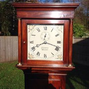 Long case clock by John Lasster from Arundel
