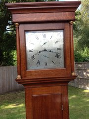 Longcase clock by James Gregory from Basingstoke