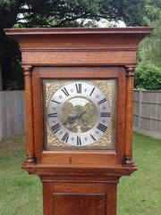 Antique Surrey Longcase clock