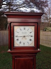 Sussex Antique Longcase Clock, Edward Box