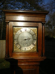 Antique longcase clock by Philip Avenell