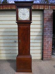 Antique longcase clock