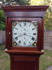 longcase clock by William Mannings from Steyning,