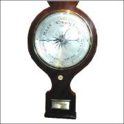 Victorian Wheel Barometer