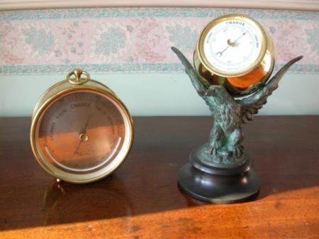 Aneroid Desk Barometer