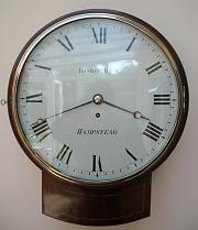 Fusee trunk dial wall Clock
