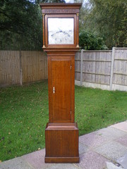 Longcase clock by Phillip Avenell