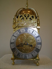 Early 20th century lantern clock