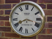 Verge wall clock