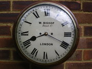 Twin fusee wall clock