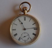 18CT Gold Pocket Watch, Wm Sommer london
